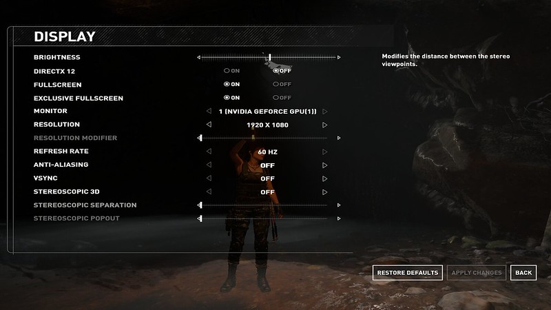 SB Rise of the Tomb raider game: Very LOW FPS! virtually