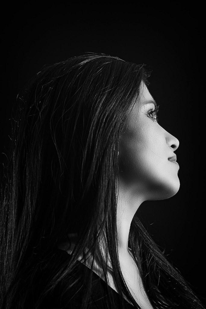 the profile view | ts photo art portrait //the profile view … | Flickr