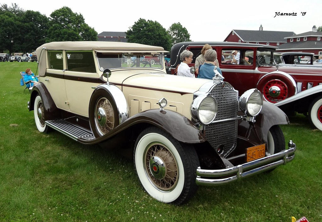 The Car Company >> 1931 Packard Eight Custom Convertible Sedan by Dietrich | Flickr