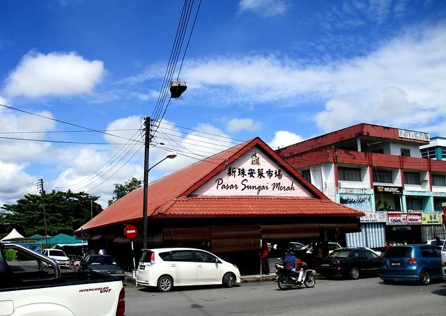 Sg Merah market