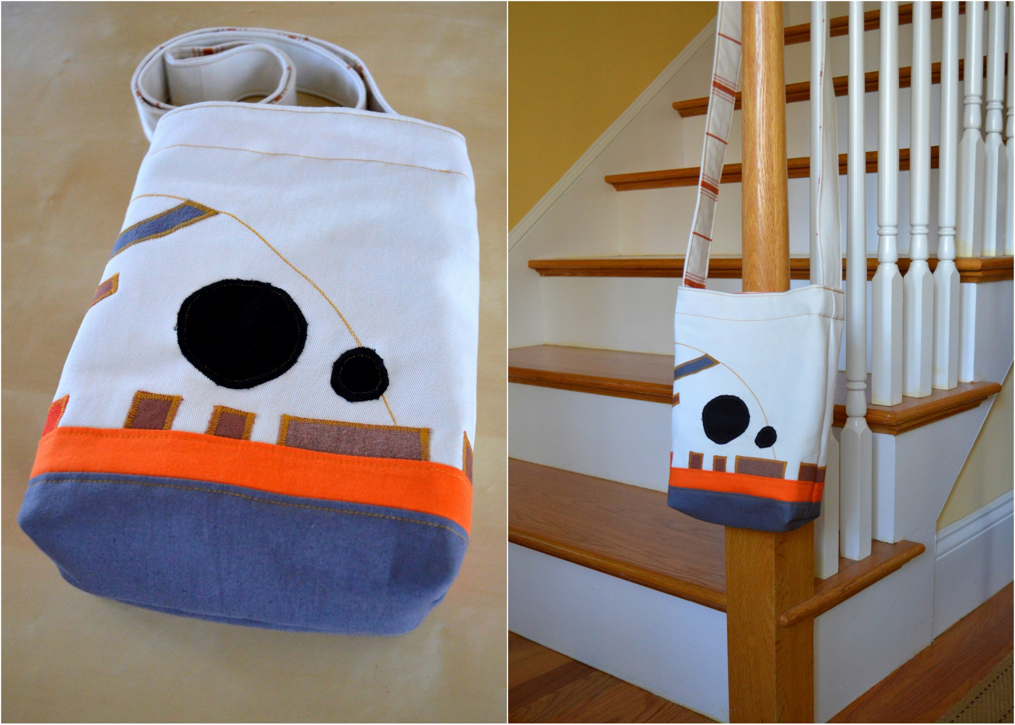 Making BB-8 Bag4