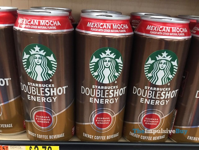 Starbucks Doubleshot White Chocolate Nutrition