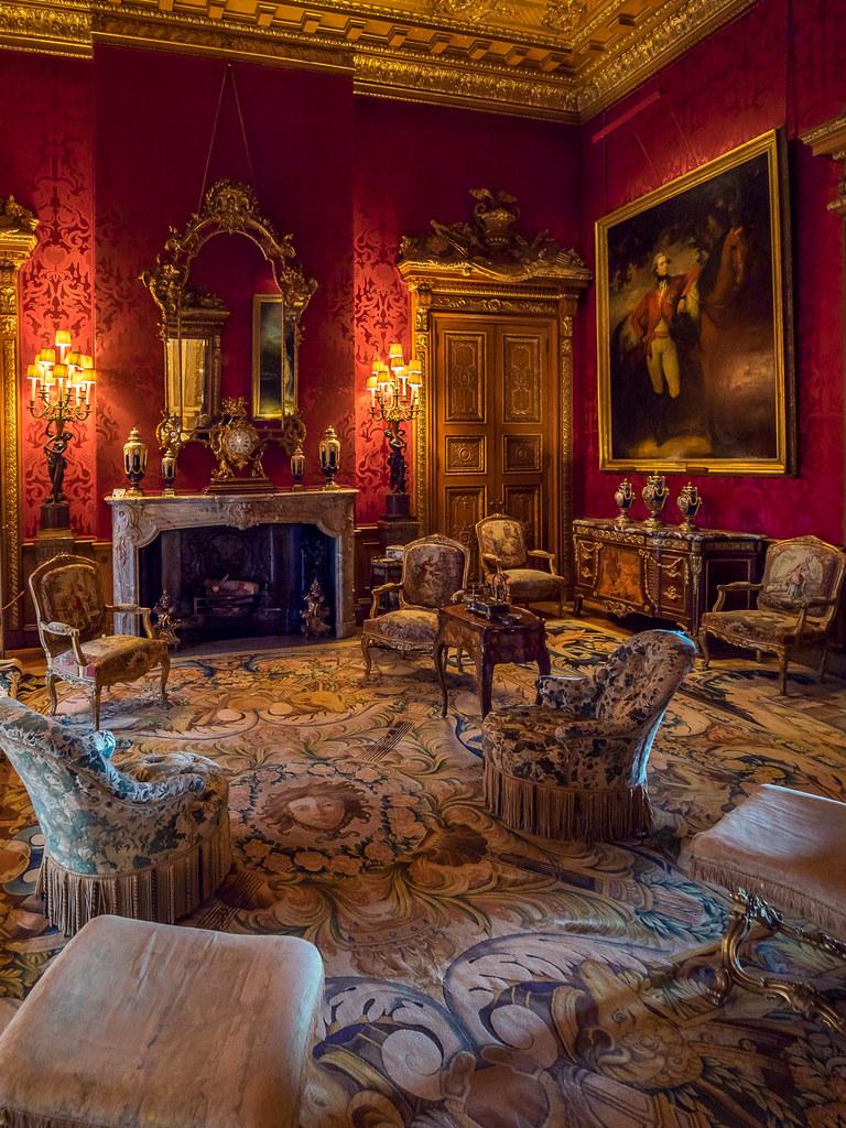 Waddesdon Manor Sitting Room Buckinghamshire One Of