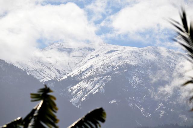 Snowy hills, February, Tenerife