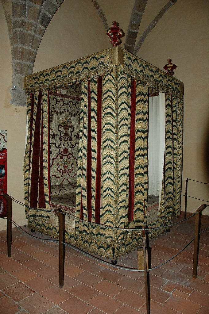 Cama de Enrique IV de Francia