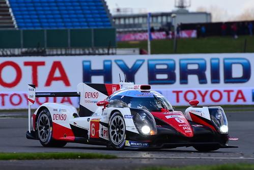 Stéphane Sarrazin - Mike Conway - Kamui Kobayashi, Toyota TS050 - Hybrid, WEC Silverstone 2016