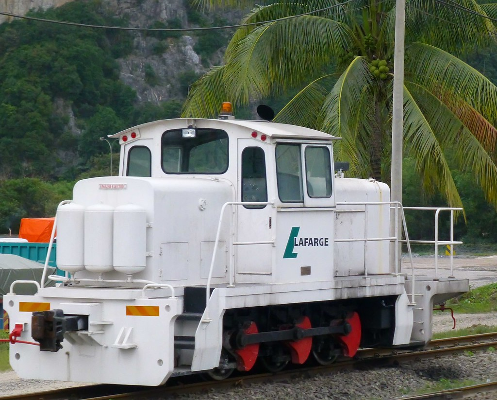 New Lafarge Cem : English electric at lafarge cement malaysia flickr