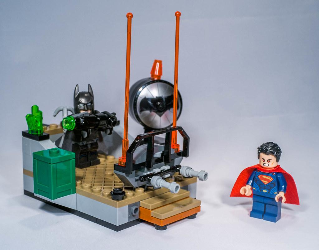Lego 76044 - Batlle of the heroes | Lego 76044 DC comics ...