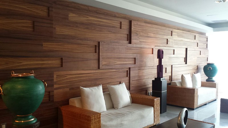 Revestimiento madera muros recubrimiento fachada 1 500 Revestimiento de madera para muros interiores