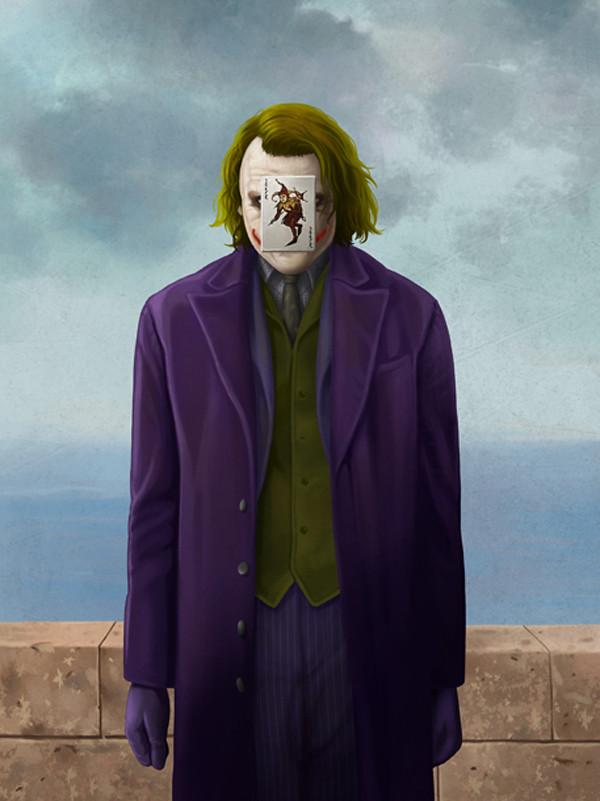 Magritte Joker by Ben Chen