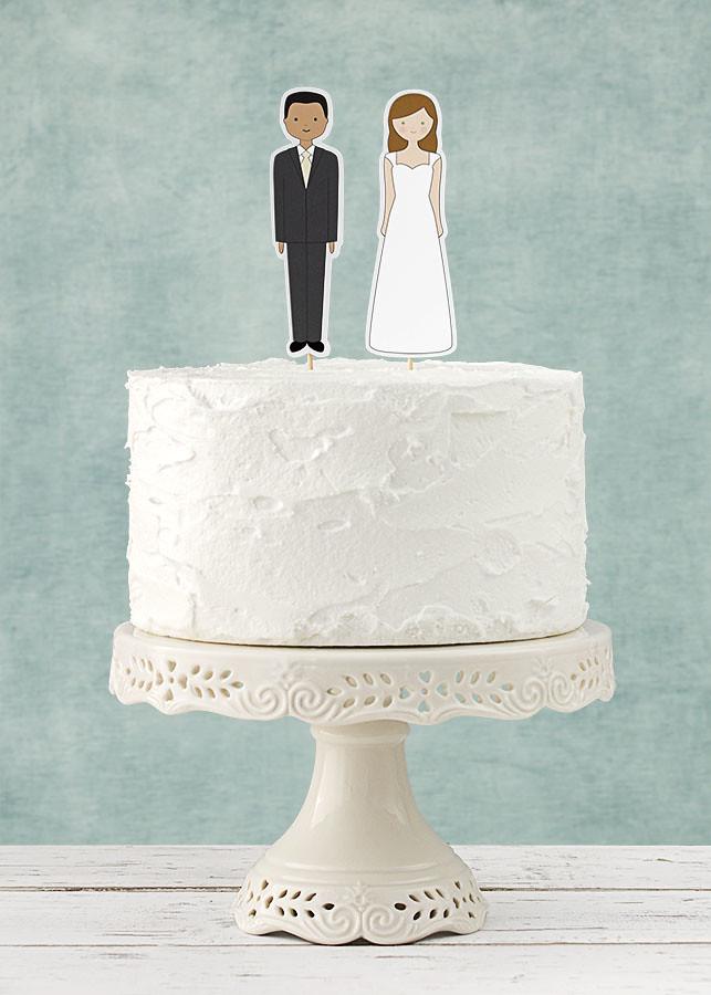 toppers tarta boda