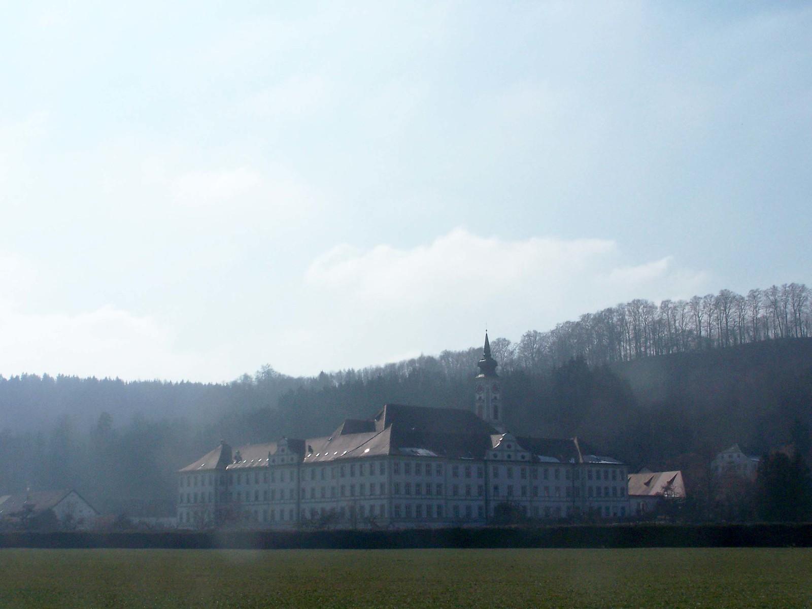 Kloster Schäftlarn von hinten