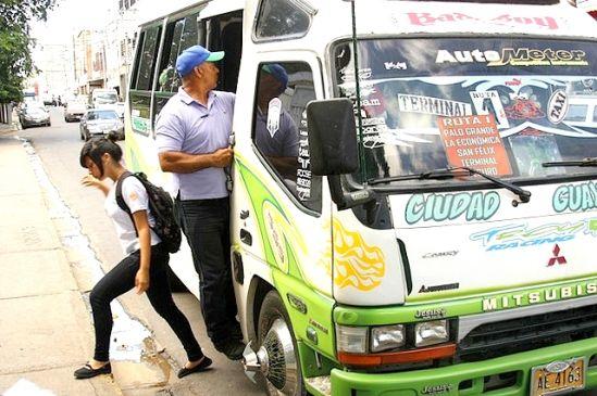 Alcaldía de Caroní aumenta pasaje de transporte público a Bs. 35