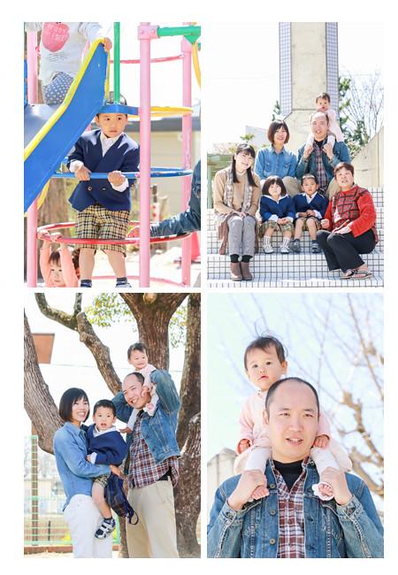 1才のお誕生日記念 バースデーケーキ 愛知県豊田市 自宅 学校 出張撮影 データ 家族写真 自然な