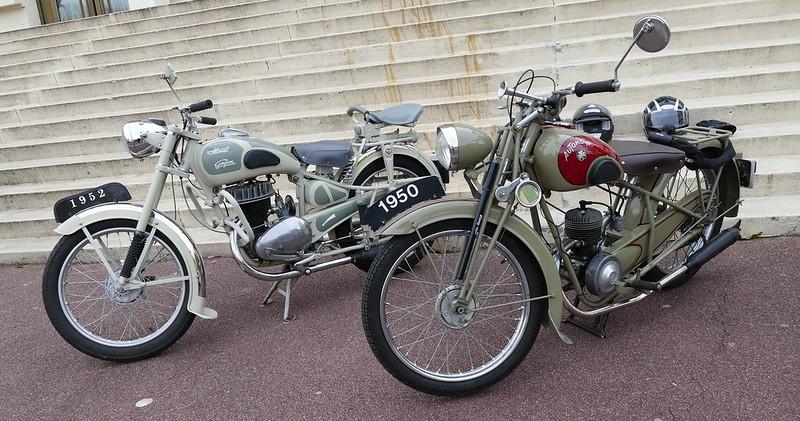 Monet Goyon 1950 et Automoto 1952 - Sainte Geneviève des Bois 24 Avril 2016 26688908496_3e5ca6655b_c