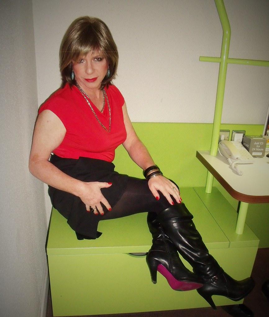 Crossdresser heels flickr pity