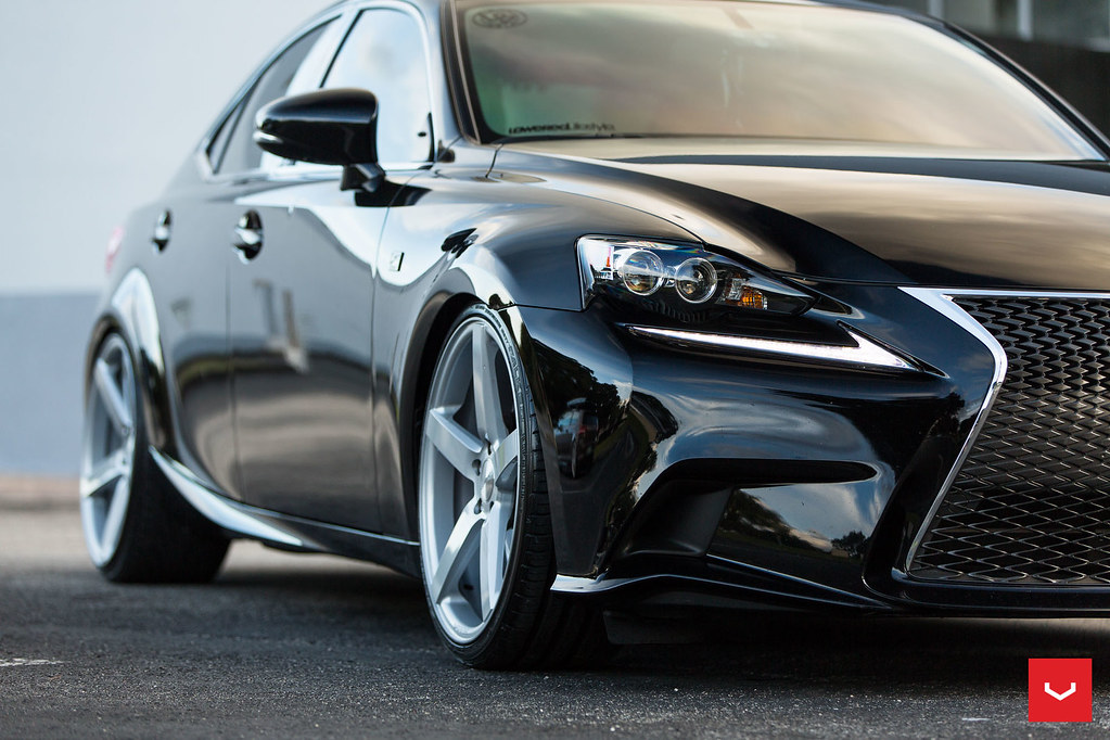 acevvvedo lexus is 250 f sport vossen cv3 r vossen w flickr. Black Bedroom Furniture Sets. Home Design Ideas