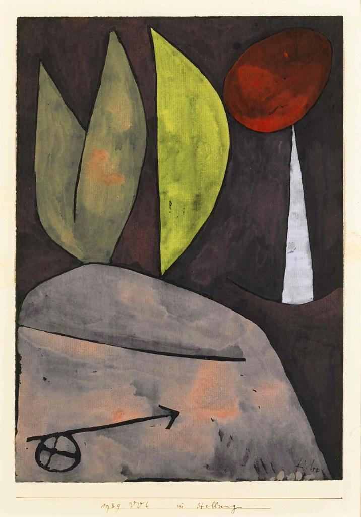 In Stellung In Position 1939 Paul Klee(1879 1940