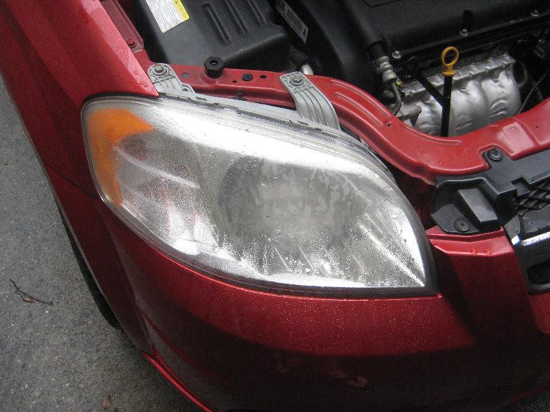 2007 2011 Gm Chevrolet Aveo Headlight Housing Changing L Flickr