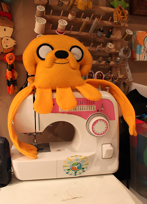 Adventure Time - Jake Squid plush by LoveAndASandwich