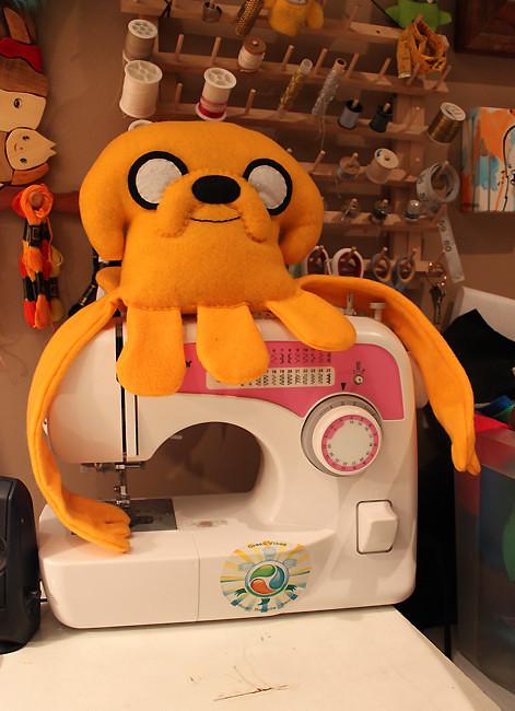 Adventure Time - Jake Squid plush by LoveAndASandwich