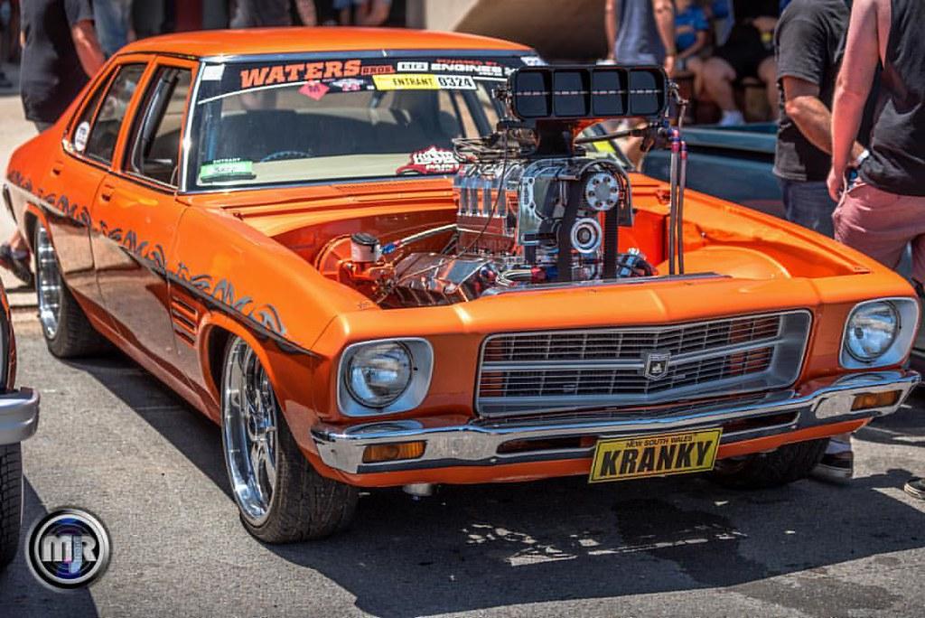 Kranky Tuff Blown Fat Holden Hq Aussie Muscle Car
