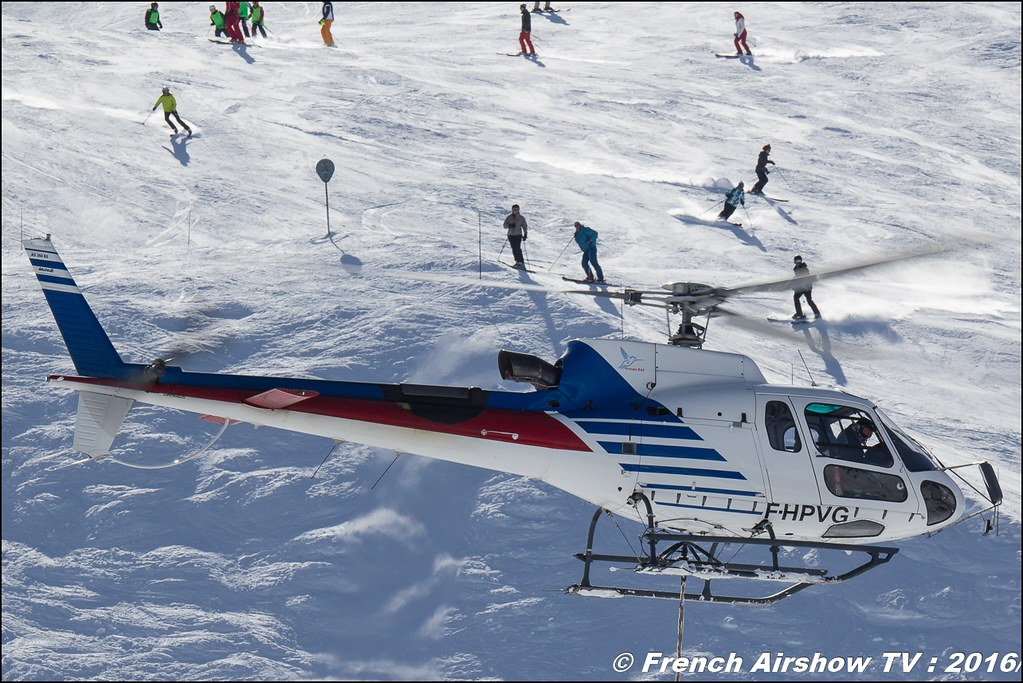 Aérospatiale AS-350 B3 Ecureuil - F-HPVG, SAF Helicoptere, Verdon, levage, Salon Hélicoptère à Courchevel 2016, Meeting Aerien 2016