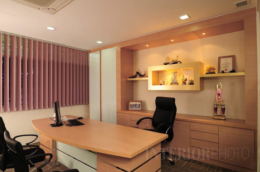 Office interior design manager room via best one for Director office room design
