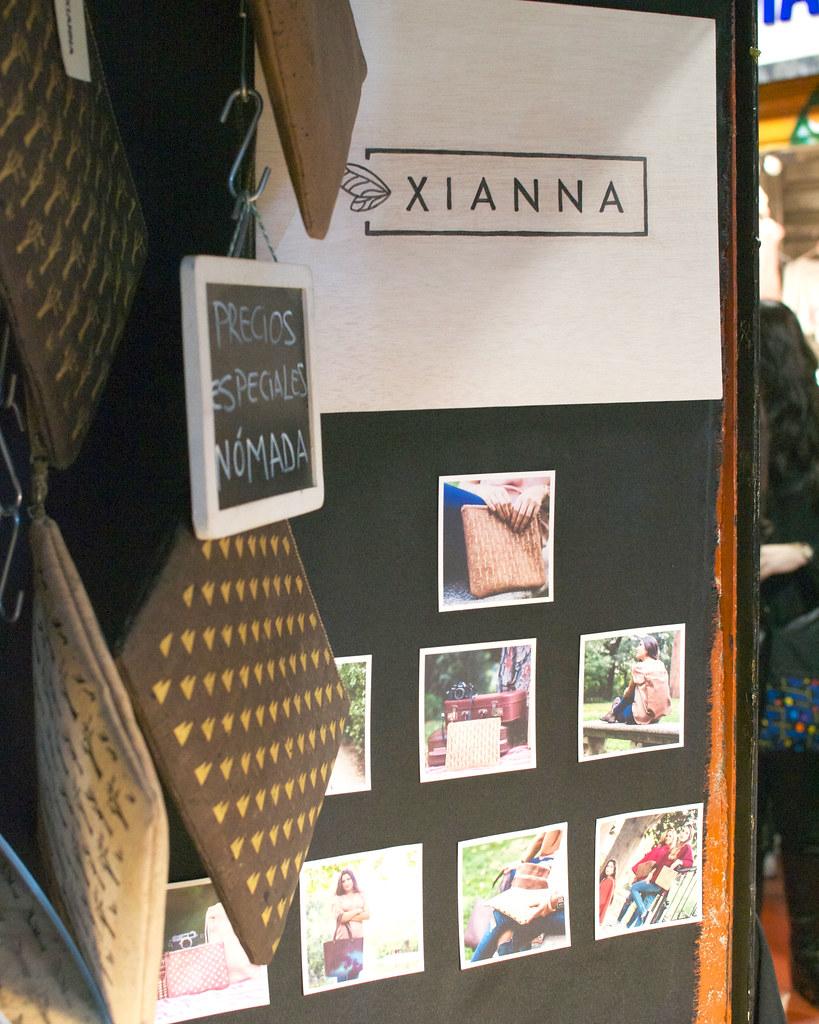 Xianna en Nómada Market Be Yourself Edition
