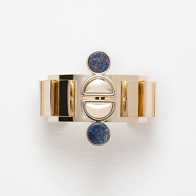 ZARA jeweled metal bracelet RMB79