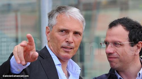Il presidente del Catania Davide Franco
