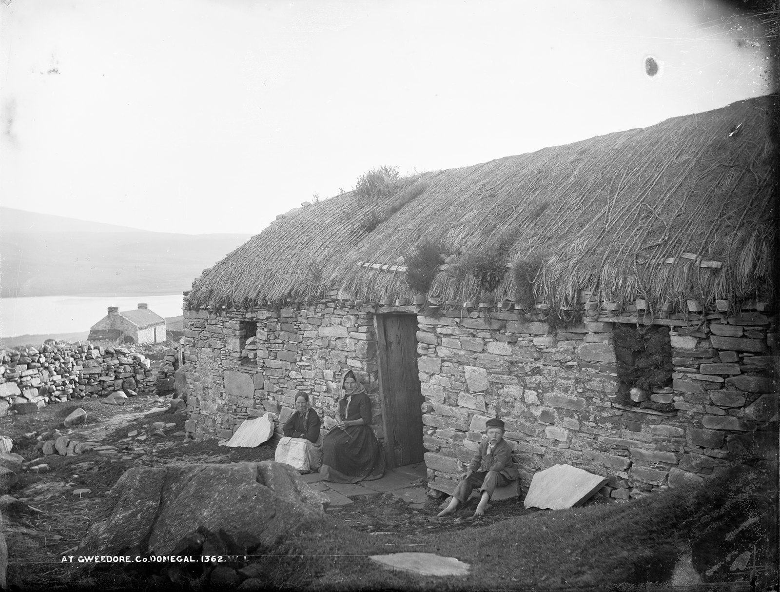 At Gweedore, Co. Donegal | by National Library of Ireland on The Commons