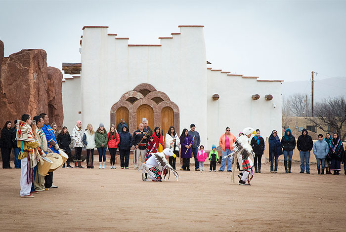 The Pueblo of Pojoaque celebrated Reyes Day on January 6, 2016. (Photo courtesy of Pueblo of Pojoaque and the Poeh Museum and Cultural Center.)