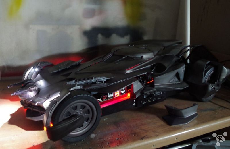 It not too cool! This Batmobile is a computer chassis