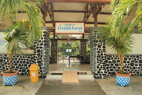 Stasiun Papar Kediri
