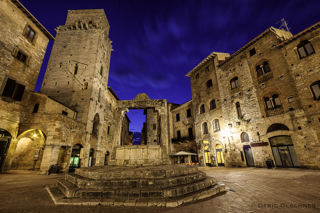San Gimignano at Dawn