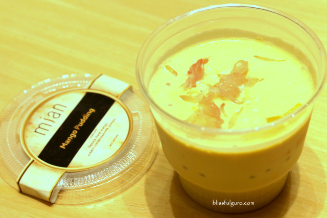 Mian Marriott Grand Ballroom Mango Pudding