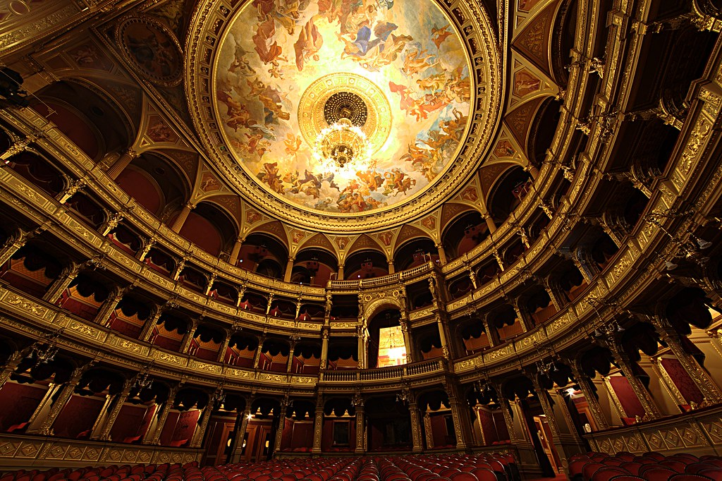Hungarian State Opera House. Credit Jason DeRose, flickr