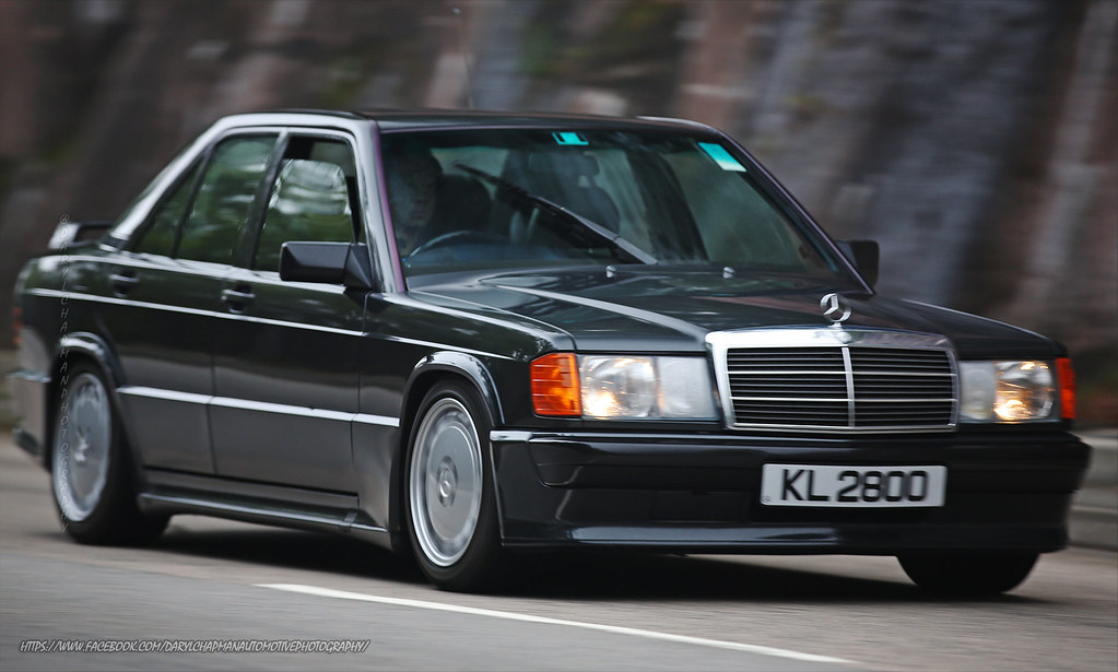 Mercedes benz 190e 2 5 16v hong kong classic from the for Mercedes benz 190e cosworth