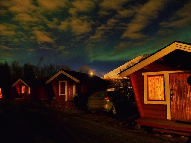 Aurora boreal el Tromso (Laponia Noruega)