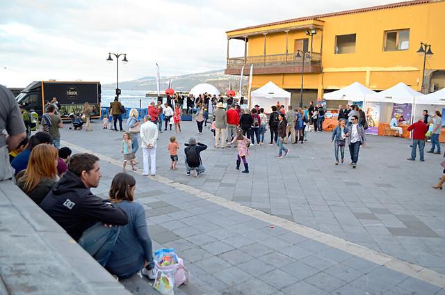 Wine and tapas fair, Plaza Europa, Puerto de la Cruz, Tenerife