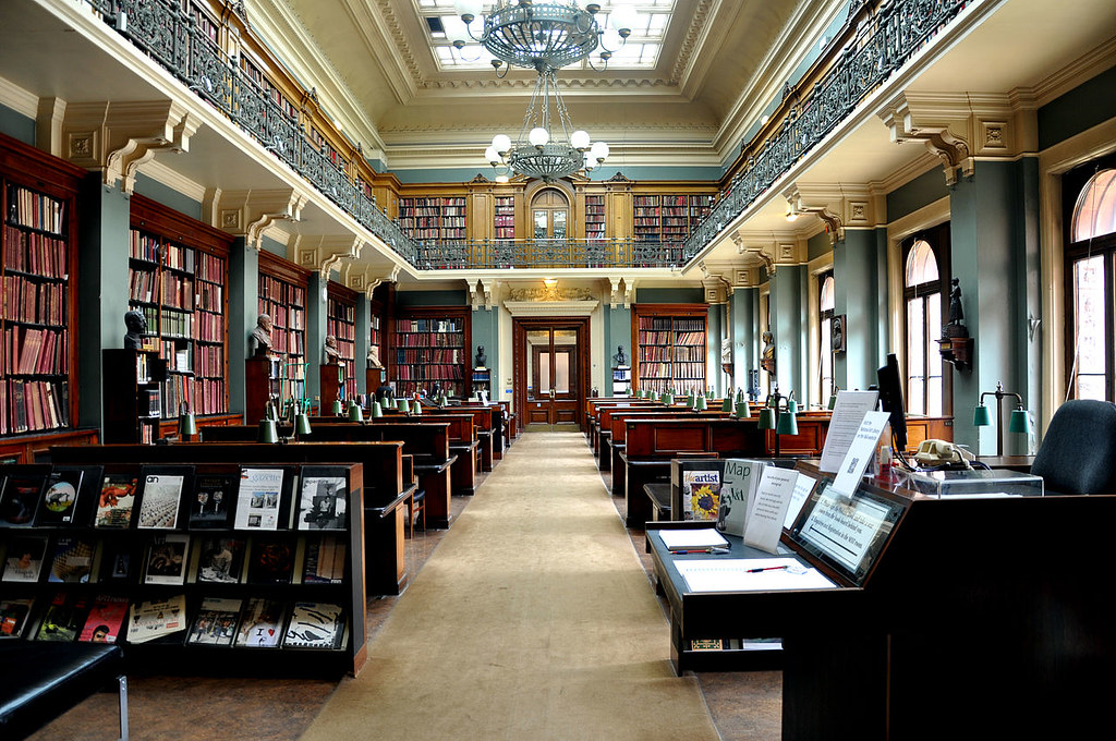 National Art Library, Victoria & Albert Museum, London, England.