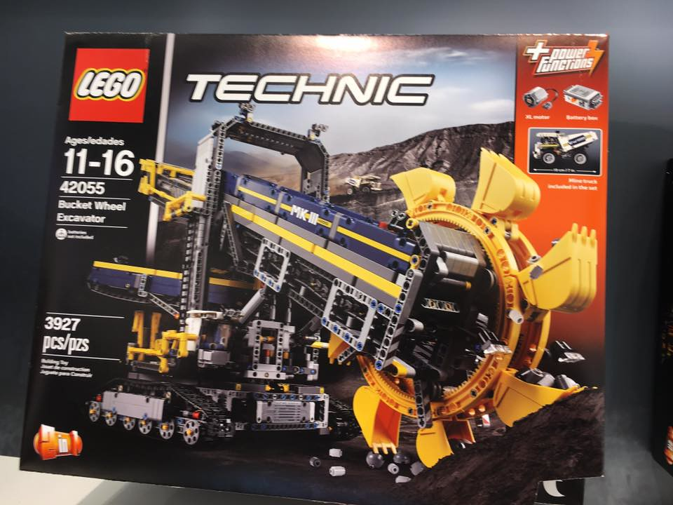 42055 bucket wheel excavator lego technic mindstorms. Black Bedroom Furniture Sets. Home Design Ideas