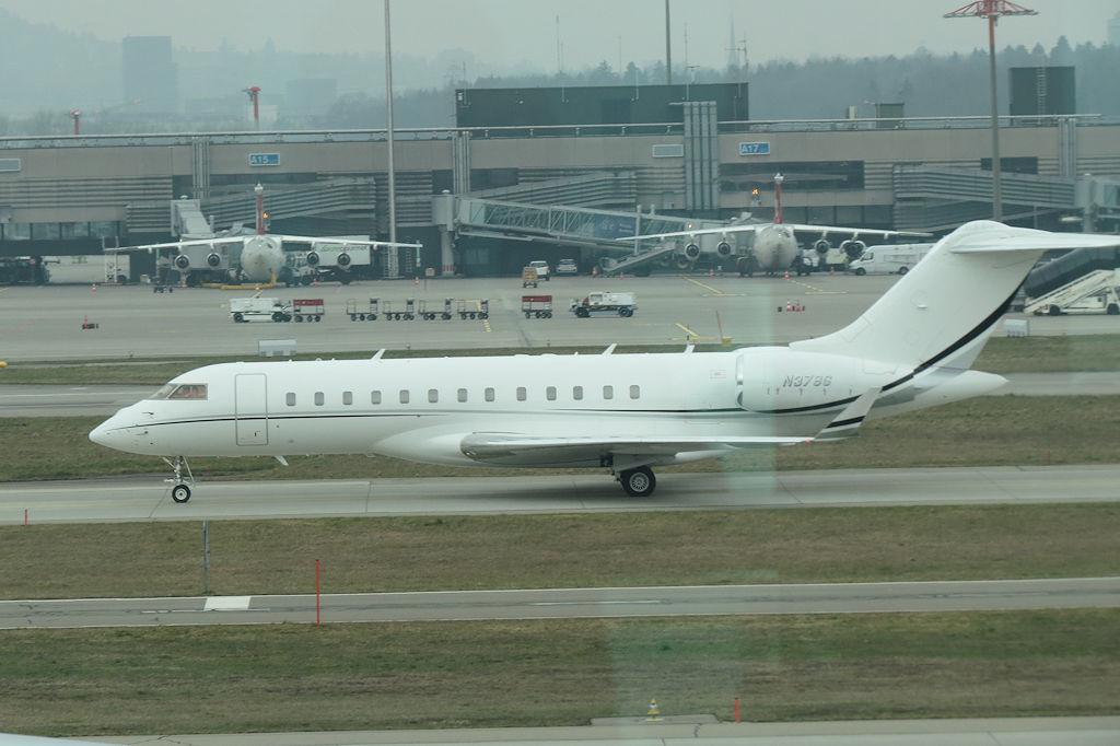 Bombardier BD7001A10 Global Express  Zurich Airport Zu  Flickr