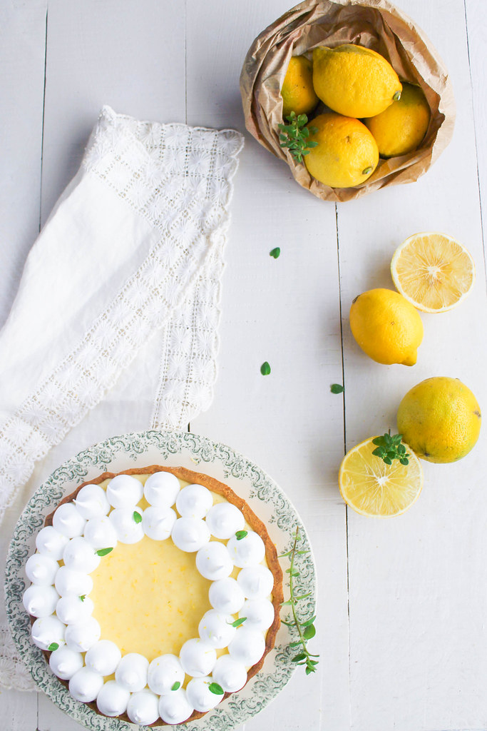 Gateau citron sans zeste