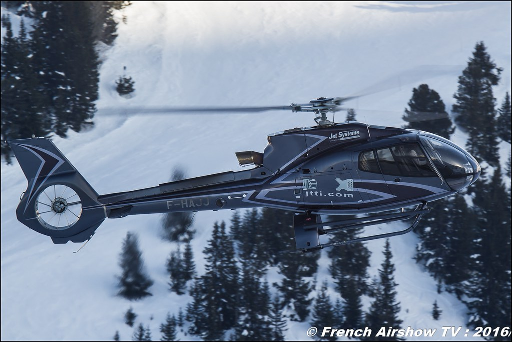 Eurocopter EC-130B-4 - F-HAJJ - Jet Systems, Salon Hélicoptère à Courchevel 2016, Meeting Aerien 2016