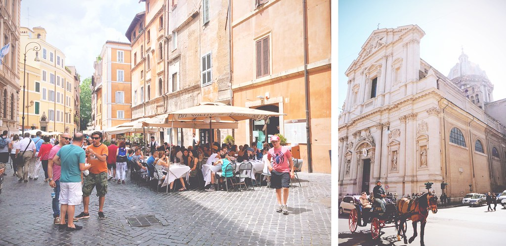 Sunny days in Rome | via It's Travel O'Clock