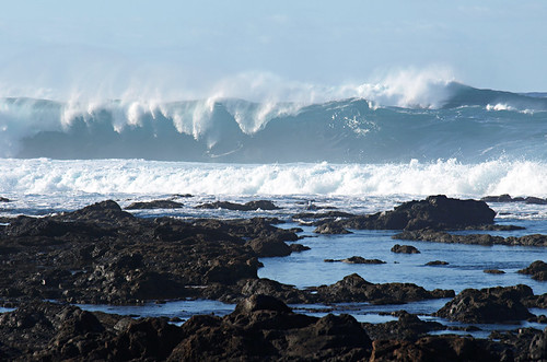 Big waves, Tenerife