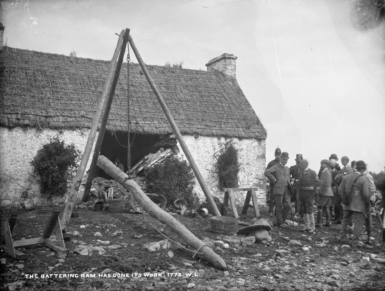 """The Battering Ram has done its work"" 