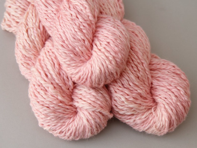 Marshmallow Cloud Baby Alpaca Chunky hand dyed yarn 100g – 'Baby Cakes'